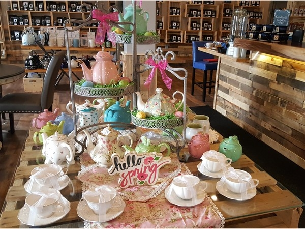Check out the great selection of tea pots at the Tea Cellar