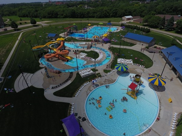 Trying to stay cool? The Falls Pool in Cedar Falls is a great place to beat the heat
