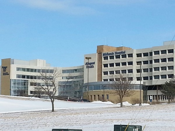 Midlands Hospital in Papillion is just off of 84th St and Hwy 370