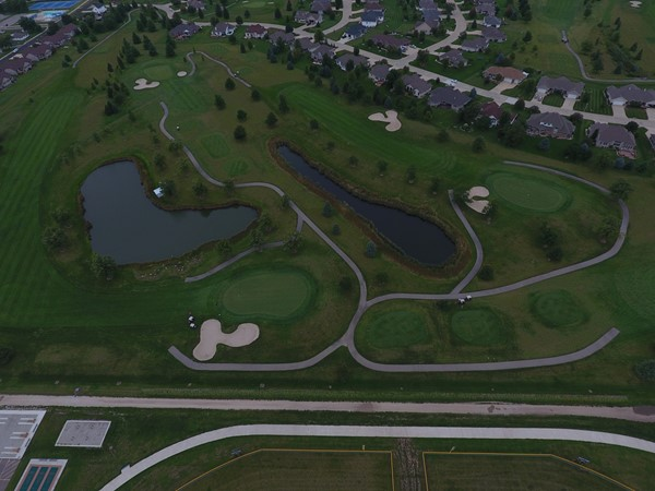 Fox Ridge Golf Course is one of the finest greens in Iowa. It can be found in Dike
