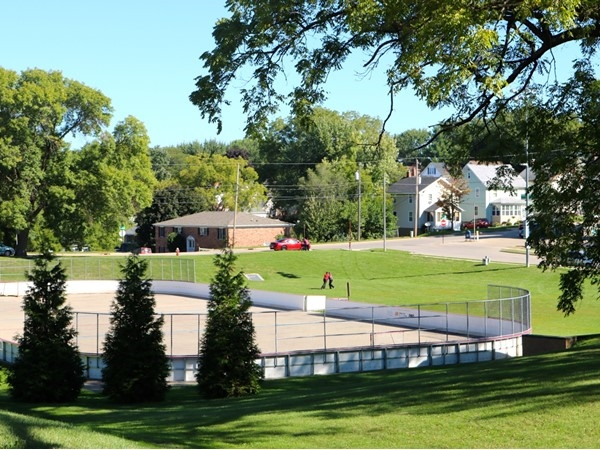 Outdoor hockey rink at Allison - Henderson Park