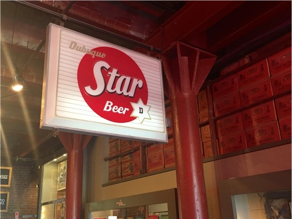 Star Beer sign in Historic Star Brewery building