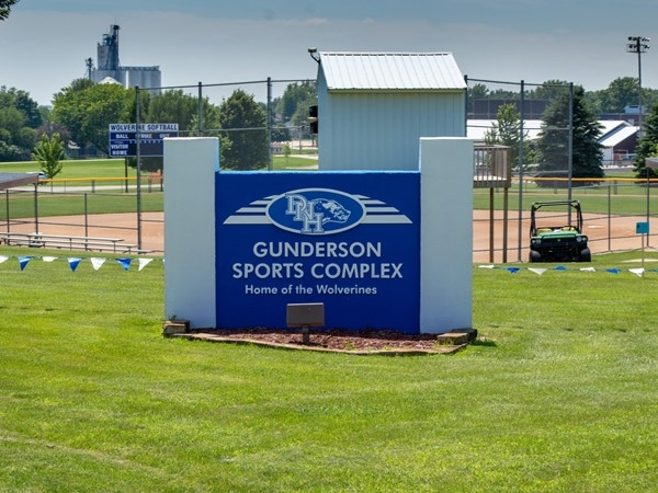 Gunderson Sports Complex in Dike