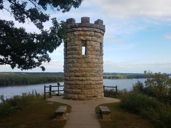 One of Dubuque's oldest and most historical monuments - Julien Dubuque Monument