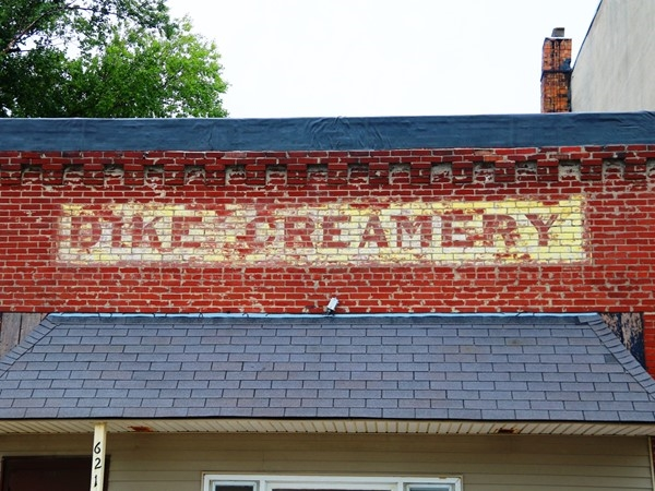 A piece of history has been left behind in Dike, the old Dike Creamery