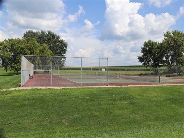 Pickle ball, badminton, or tennis? Hudson has some great, free public courts