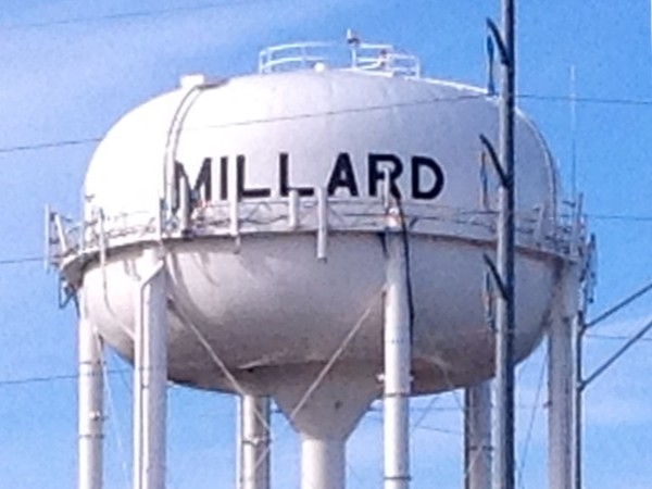 A landmark everyone recognizes, the historic Millard water tower